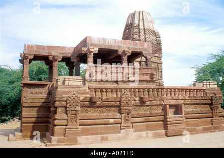 Jain Temple, Khimsar, Rajasthan, India - Stock Image