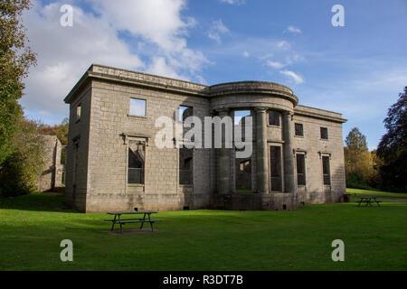Aden House in Aden Country Park, Mintlaw, Aberdeenshire, Scotland, UK. - Stock Image