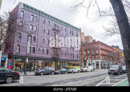 New York City (NYC) Street View - Stock Image