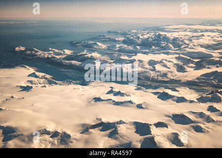 East Greenland - Stock Image