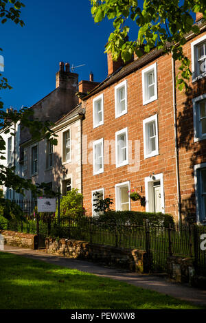 UK, Cumbria, Eden Valley, Appleby, 48 Boroughgate, bed and breakfast guest house - Stock Image