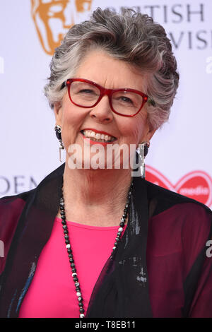 London, UK. 12th May, 2019. LONDON, UK. May 12, 2019: Pru Leith arriving for the BAFTA TV Awards 2019 at the Royal Festival Hall, London. Picture: Steve Vas/Featureflash Credit: Paul Smith/Alamy Live News - Stock Image