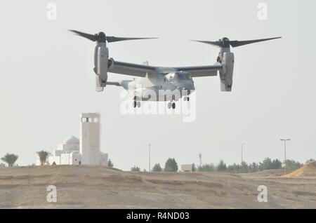 Bell Boeing MV-22 Osprey Tilitrotor - Stock Image