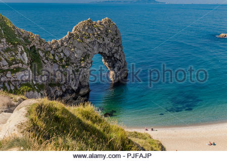 Durdle Dor in Dorset - the Arch - Stock Image