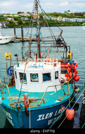 A fishing boat in Kinsale harbour, Ireland. - Stock Image