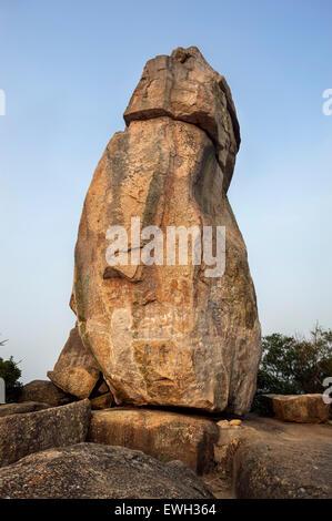 Amah Rock, Kowloon, Hong Kong - Stock Image