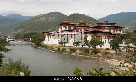 Punakha Dzong, Bhutan - Stock Image