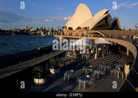 Sydney Harbor Opera House, Australia AUS - Stock Image