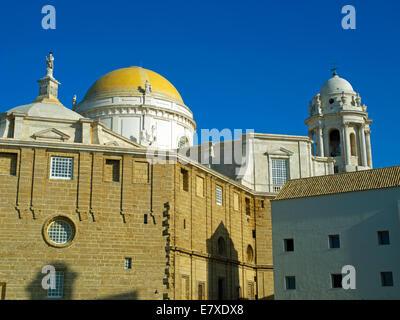 Cadiz Cathedral - Stock Image