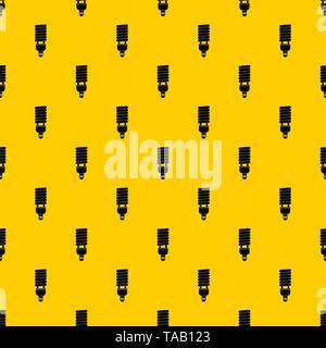 Fluorescent bulb pattern vector - Stock Image