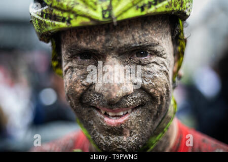 Jan Skarnitzl of Czech Republic competes at the XC men race of UCI MTB World Cup in Albstadt, Germany, May 19, 2019. (CTK Photo/Michal Cerveny) - Stock Image