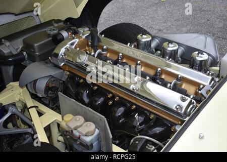 4.2 Jaguar Engine. - Stock Image