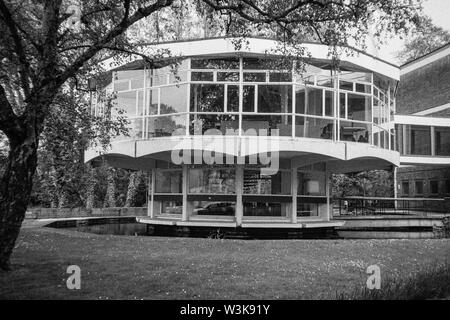 The Rotunda, Winchester School of Art, Architect H. Benson Ansell, Winchester, Hampshire, England, United Kingdom. - Stock Image