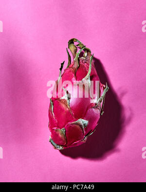 dragon fruit,pitahaya - Stock Image