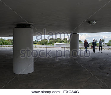 Underpass leading to Campbell Park, Milton Keynes, Buckinghamshire. - Stock Image
