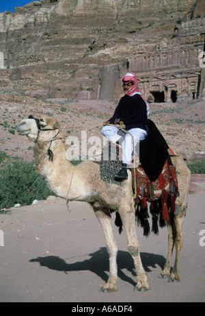 Jordan Petra Bedouin - Stock Image