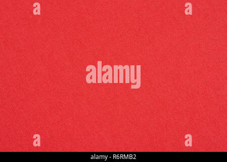 Abstract red fabric texture background. Book cover - Stock Image