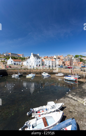 Crail Harbour East Neuk Fife - Stock Image