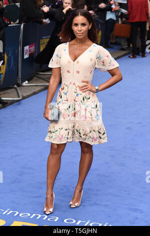 London, UK. 24th Apr, 2019. LONDON, UK. April 24, 2019: Shanie Ryan arriving for the 'Extremely Wicked, Shockingly Evil And Vile' premiere at the Curzon Mayfair, London. Picture: Steve Vas/Featureflash Credit: Paul Smith/Alamy Live News - Stock Image