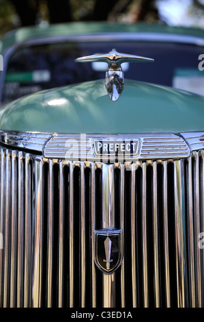 vintage Ford Prefect, a classic British motor car - Stock Image