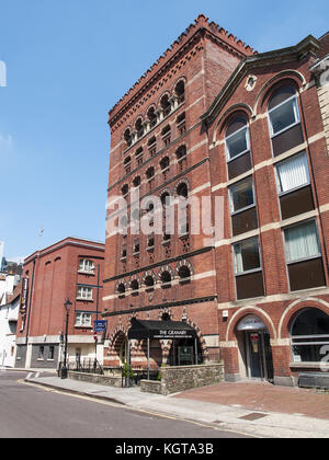 The Granary -  Bristol Byzantine Style Building, Welsh Back, Bristol - Stock Image
