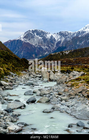 Hooker River view - Stock Image