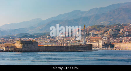 Messina, Sicily, Italy - Stock Image