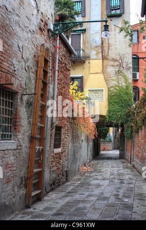 Autumn in Venice, Italy - Stock Image