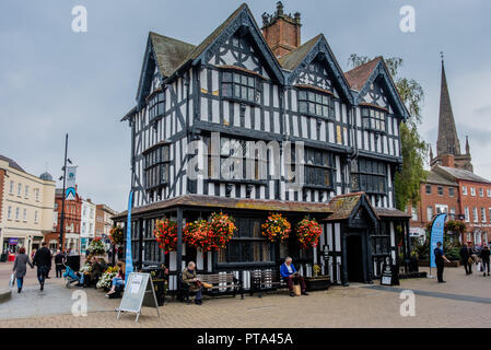 Black and White House and Museum, Hereford, Herefordshire - Stock Image