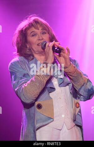 Montreal, Canada.  Edith Butler performs on stage. - Stock Image