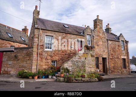 Crail, East Nuek, Fife, Scotland - Stock Image