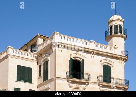 Schönes Gebäude in Santa Catalina, Palma, Mallorca, Spanien. - Beautiful buildung in Santa Catalina, Palma, - Stock Image