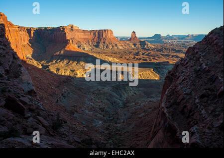 Canyonlands National Park Desert Landscape - Stock Image
