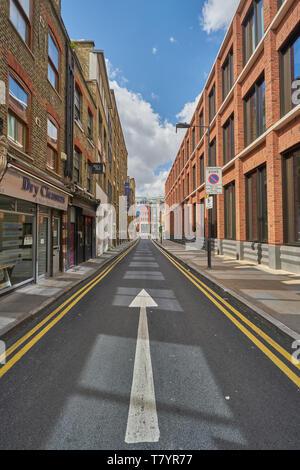 whites row  spitalfields - Stock Image