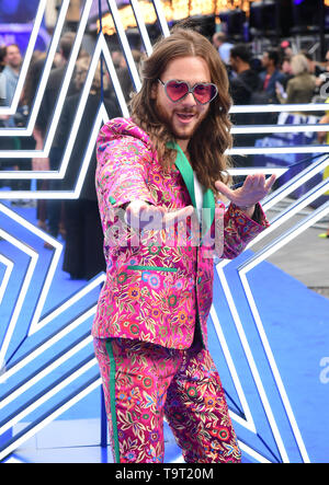 Riccardo Simonetti attending the Rocketman UK Premiere, at the Odeon Luxe, Leicester Square, London. - Stock Image