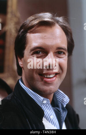 Friedrich Schwardtmann, deutsch österreichischer Schauspieler, Deutschland 1987. German Austrian actor Friedrich Schwardtmann, Germany 1987. - Stock Image