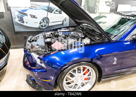 The Carroll Shelby museum a Tourist attraction in Las Vegas Nevada USA - Stock Image