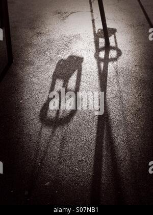 Shadow Swings - Stock Image