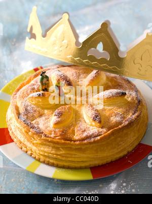 Twelfth Night Cake - Stock Image