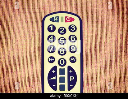 TV remote control - Stock Image
