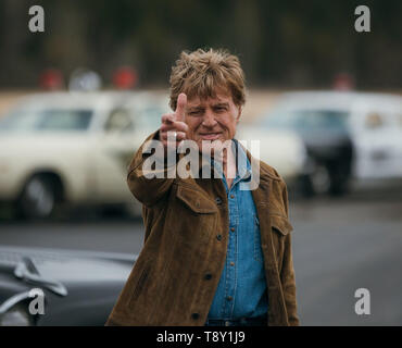 THE OLD MAN AND THE GUN (2018)  ROBERT REDFORD  DAVID LOWERY (DIR)  FOX SEARCHLIGHT PICTURES/MOVIESTORE COLLECTION LTD - Stock Image
