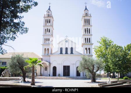 The Sveti Antun church in Tuzi city in southern Montenegro, September 2nd, 2018. (CTK Photo/Libor Sojka) - Stock Image