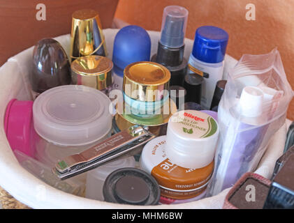 Common Toiletries - Stock Image