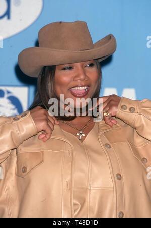 QUEEN LATIFER American singer and film actress in 1998. Photo: Jeffrey Mayer - Stock Image