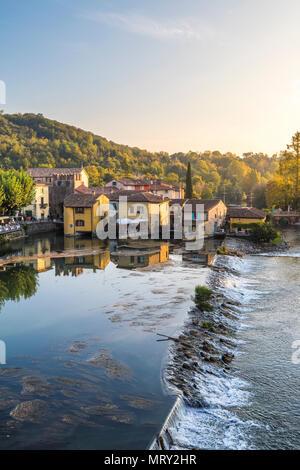 Borghetto, Valeggio sul Mincio, Verona province, Veneto, Italy, Europe - Stock Image