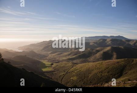 Rodeo Valley, Marin Headlands, Golden Gate National Recreation Area, California, USA - Stock Image
