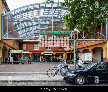 BIO Company. Organic supermarket selling natural foods, cosmetics & products In Lichterfelde-Berlin,Germany - Stock Image