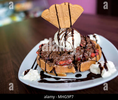 Sweet Deserts - Stock Image