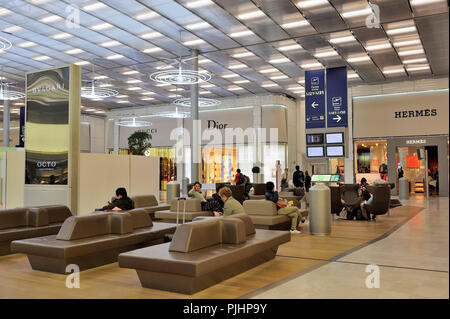 France, Roissy, Charles-de-Gaulle International Airport, Terminal E2 - Stock Image