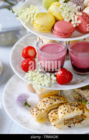 Traditional english afternoon tea - Stock Image